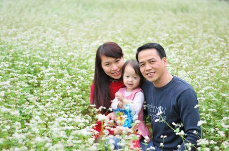 Hoa tam giac mach trang bung no o Lang Son - Anh 4