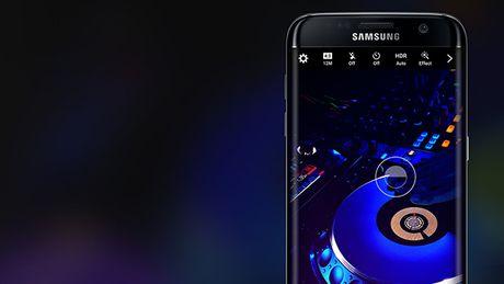 Samsung ke hoach ra mat Galaxy S7 phien ban mau den bong - Anh 1