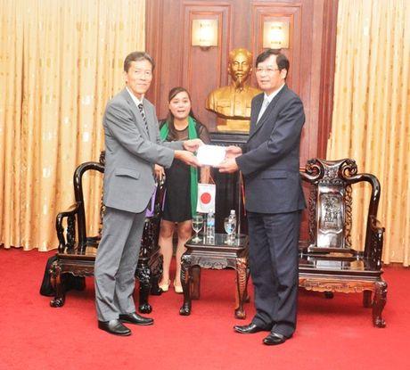 Lanh dao VKSNDTC tiep Doan dai bieu Vien Nghien cuu va Dao tao, Bo Tu phap Nhat Ban - Anh 3