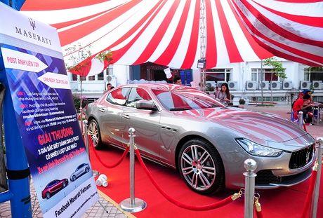 Maserati Ghibli-Diem nhan tai Le hoi am thuc Y - Anh 1