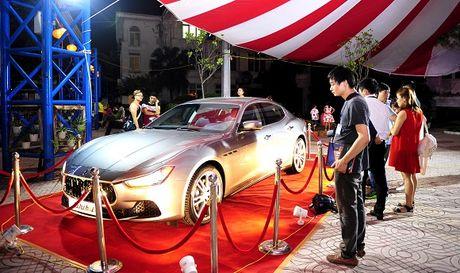 Maserati Ghibli-Diem nhan tai Le hoi am thuc Y - Anh 2