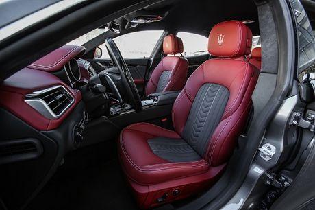 Maserati Ghibli-Diem nhan tai Le hoi am thuc Y - Anh 5