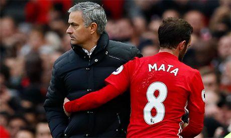 Mourinho noi gi voi cau thu sau khi danh roi chien thang truoc Arsenal? - Anh 1