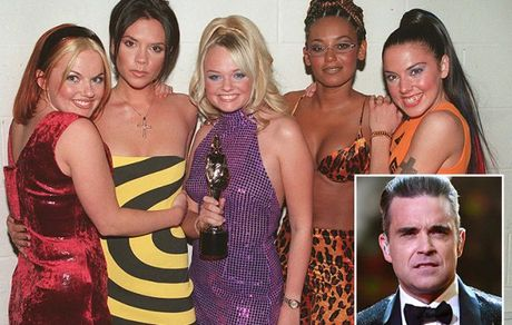 He lo chuyen tinh ai cua Robbie Williams voi cac co nang Spice Girls - Anh 2