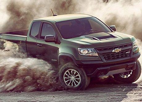 Ban tai Chevrolet Colorado ZR2 2017: Thach thuc moi dia hinh - Anh 1