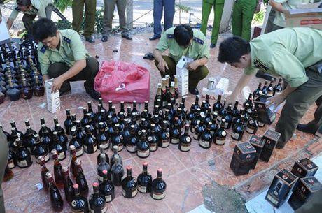 Kiem tra cong tac chong buon lau, gian lan thuong mai - Anh 1