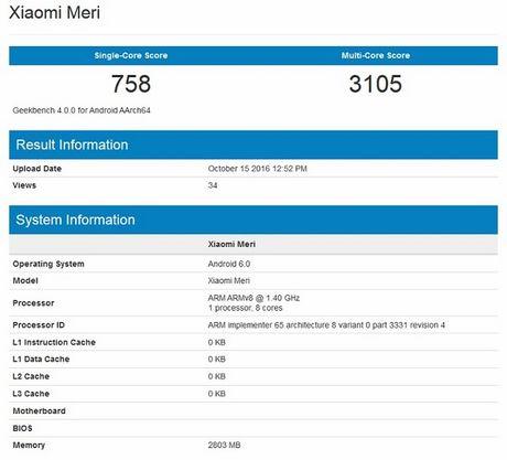 Lo anh Xiaomi Meri, chiec dien thoai dau tien mang con chip cua chinh Xiaomi - Anh 4