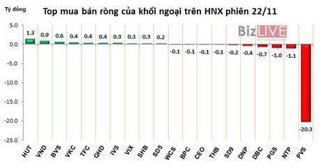 Phien 22/11: Khoi ngoai ban rong manh phien thu 8 lien tiep gan 109 ty dong - Anh 2