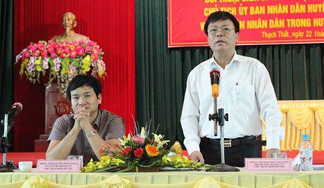Huyen Thach That lan dau tien doi thoai voi Nhan dan: Thao go nhieu van de dan sinh - Anh 2