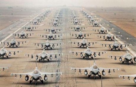 My cho Han Quoc vay tien nang cap 'Dieu hau chien' F-16 - Anh 1