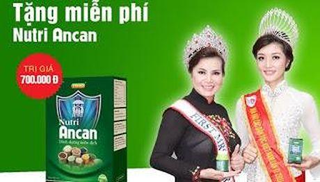 Quang cao lao, thuc pham chuc nang Ancan bi phat 65 trieu dong - Anh 1