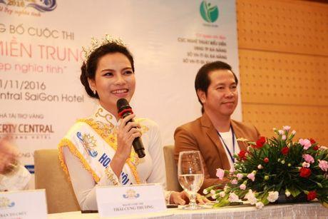 Hoa khoi mien Trung 2016 bat dau hanh trinh tim kiem 've dep nghia tinh' - Anh 1