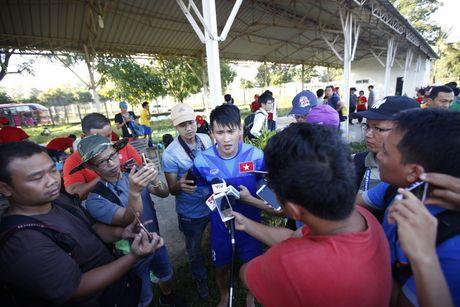 Ghi ban thang thu 50, Cong Vinh khong thay doi quyet dinh chia tay DTQG - Anh 1