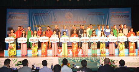 Amway Viet Nam la nha tai tro chinh cho giai 'Luc si dep Viet Nam' 2016 - Anh 2