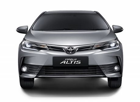 Toyota ra mat phien ban nang cap moi cho Altis - Anh 12