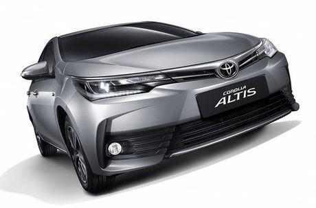 Toyota ra mat phien ban nang cap moi cho Altis - Anh 1