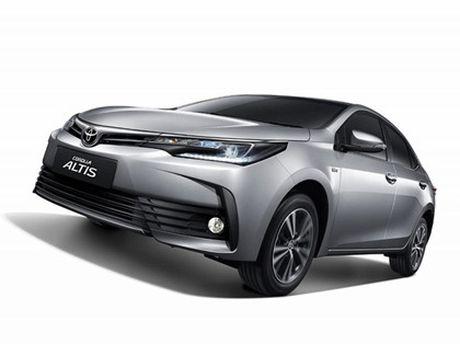 Toyota ra mat phien ban nang cap moi cho Altis - Anh 2