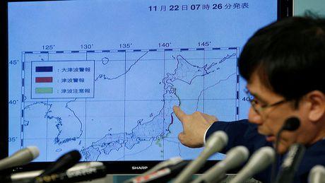 Nhat Ban: Dong dat 7,3 do Richter, song than ngoai khoi Fukushima - Anh 2
