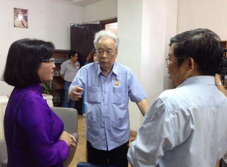 Khai truong thu vien Tran Trong Dang Dan - Anh 1