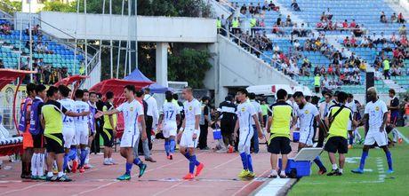 Tuyen Viet Nam tap duoi nang bong rat de dau Malaysia - Anh 2