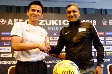 Thai Lan 0-0 Singapore (H1): Tuyen Thai thi dau be tac - Anh 10