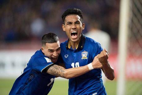 Thai Lan 0-0 Singapore (H1): Tuyen Thai thi dau be tac - Anh 14