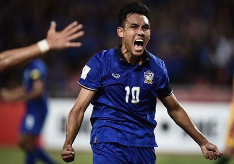 Thai Lan 0-0 Singapore (H1): Tuyen Thai thi dau be tac - Anh 15
