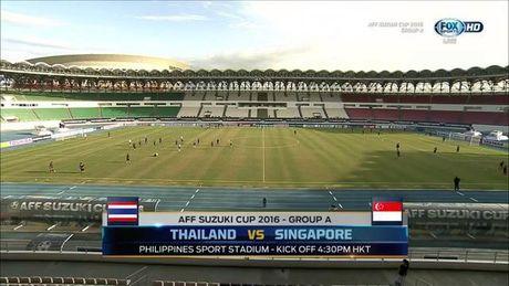 Thai Lan 0-0 Singapore (H1): Tuyen Thai thi dau be tac - Anh 6