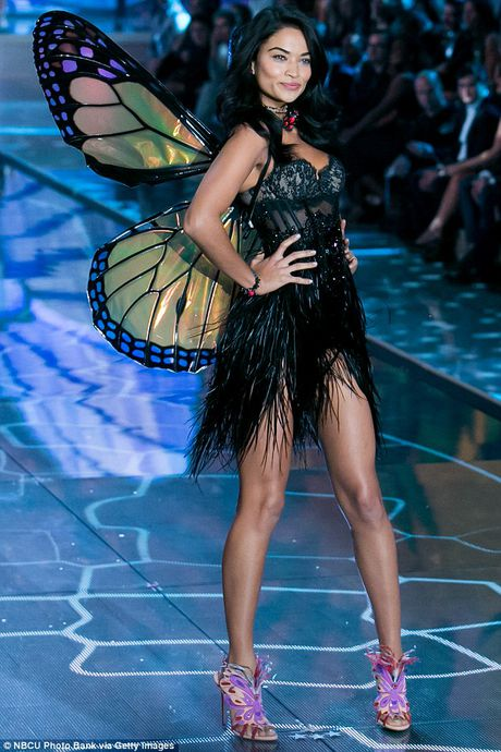12 thien than vang mat o Victoria's Secret Show 2016 - Anh 3