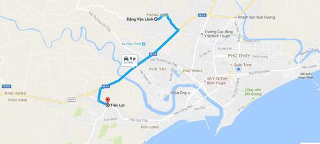 Ket sat mat trom duoc tim thay cach hien truong hon 5 km - Anh 1