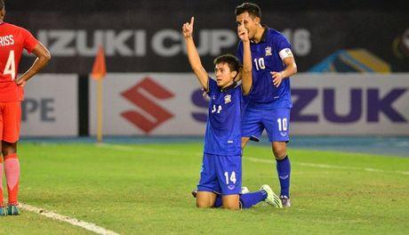 Ha Singapore phut cuoi, Thai Lan som vao ban ket - Anh 1