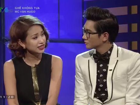 Xem lai VIDEO chan dong: MC Van Hugo tiet lo noi dau hong mat va mat dan giong noi - Anh 1