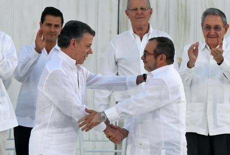 Chinh phu Colombia va FARC chuan bi ky thoa thuan hoa binh moi - Anh 1