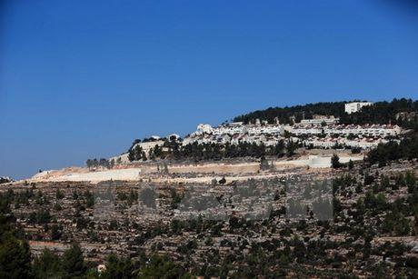 Israel noi lai ke hoach xay 500 nha moi o khu dinh cu Jerusalem - Anh 1