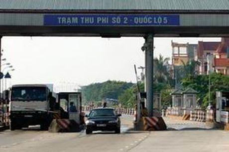 Giam phi duong bo tai 2 tram thu phi Quoc lo 5 - Anh 1
