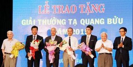 To chuc Giai thuong Ta Quang Buu nam 2017 - Anh 1