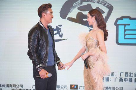 Khanh My, HKT khien buoi ra mat phim o TQ soi noi - Anh 3