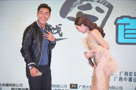 Khanh My, HKT khien buoi ra mat phim o TQ soi noi - Anh 4