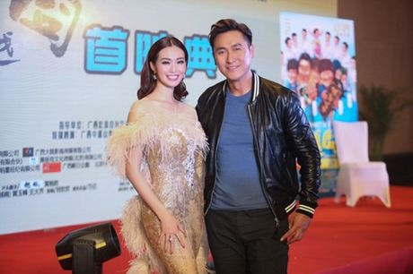 Khanh My, HKT khien buoi ra mat phim o TQ soi noi - Anh 6