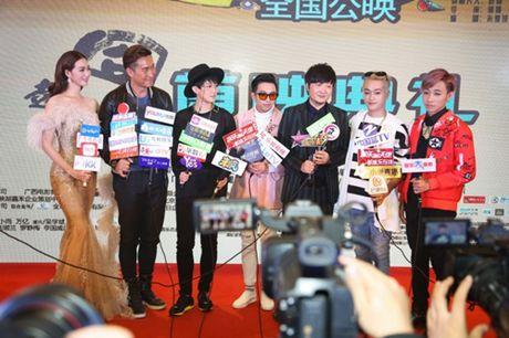 Khanh My, HKT khien buoi ra mat phim o TQ soi noi - Anh 8