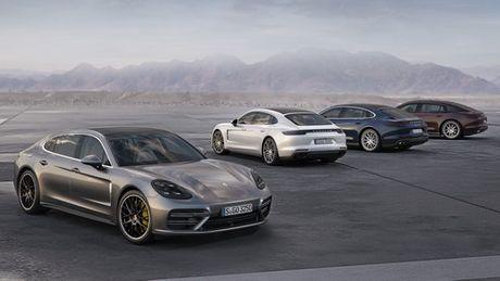 Porsche Panamera Executive: Dang cap sedan hang sang - Anh 1