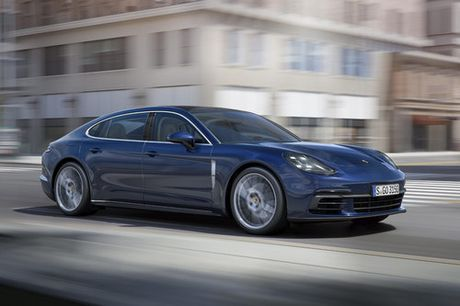 Porsche Panamera Executive: Dang cap sedan hang sang - Anh 3
