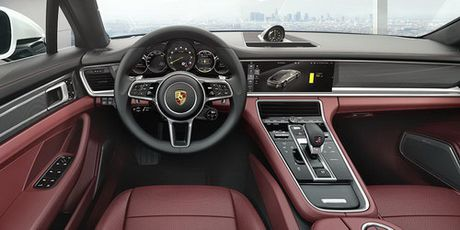 Porsche Panamera Executive: Dang cap sedan hang sang - Anh 4