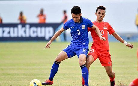 Thai Lan nhoc nhan danh bai Singapore doat ve vao ban ket AFF Cup 2016 - Anh 1
