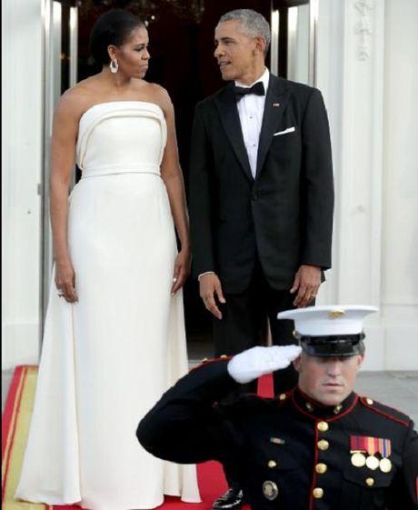 Trang phuc an tuong cua De nhat phu nhan Michelle Obama - Anh 1