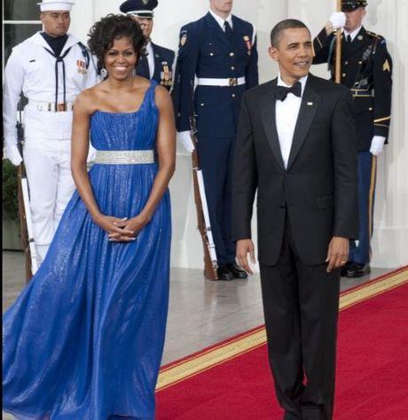 Trang phuc an tuong cua De nhat phu nhan Michelle Obama - Anh 2