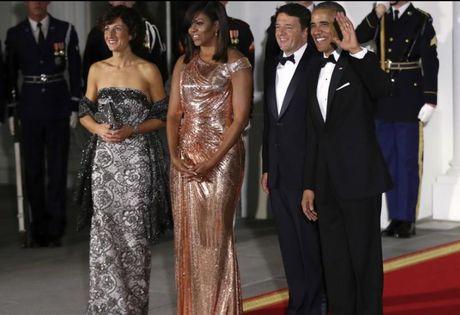 Trang phuc an tuong cua De nhat phu nhan Michelle Obama - Anh 3