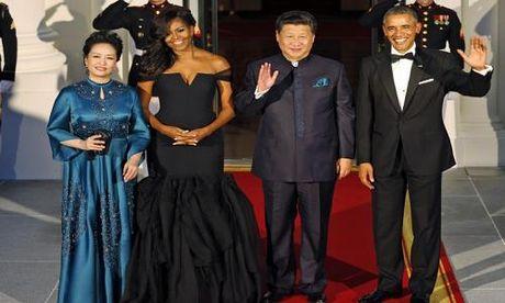Trang phuc an tuong cua De nhat phu nhan Michelle Obama - Anh 6