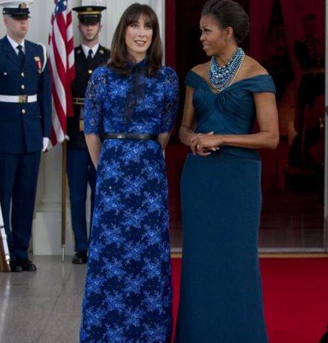 Trang phuc an tuong cua De nhat phu nhan Michelle Obama - Anh 8