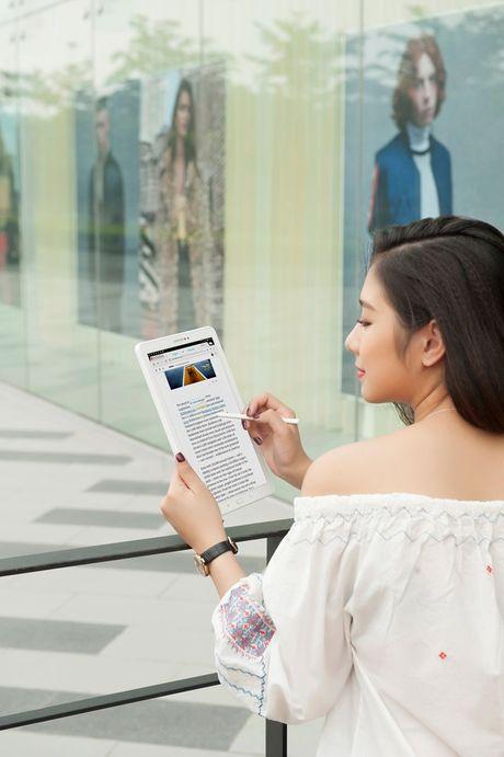 Trai nghiem but S Pen cua may tinh bang Galaxy Tab A 2016 - Anh 2